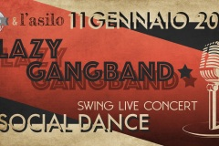 Lazy Gangband Live at L'Asilo 11.1.20