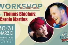 Workshop with Thomas Blacharz & Carole Martins